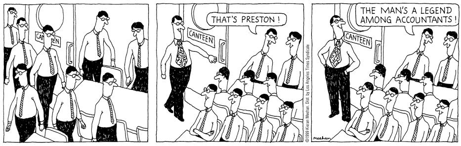"""Meehan Streak"" Los Angeles Times Syndicate from 1999 #comicstrip #cartoon pic.twitter.com/4KLaqUuWbQ"