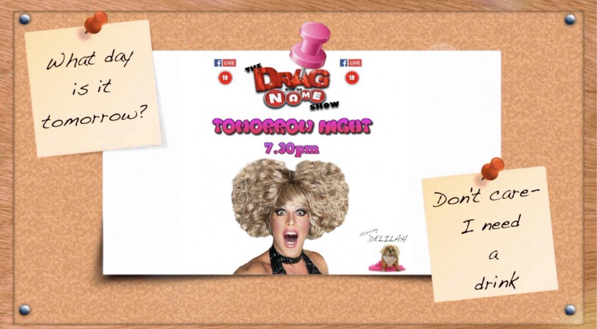 #FridayVibes #FridayFeeling #FacebookLive #YouTubeLIVE #dragshow https://t.co/4BsaWjFcdF