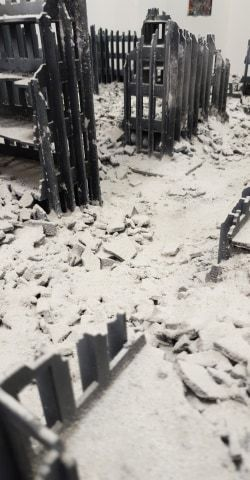 This was to be our big reveal for @WarlordGames Stalingrad release, a custom board from @ApsLukes ! We love our new Stalingrad board and can't wait to get some @boltaction games in on it :) #GDTG #grimdicetabletop #grimdicetabletopgaming #boltactionminiatures #warlordgames https://t.co/MZTGNnwgPq