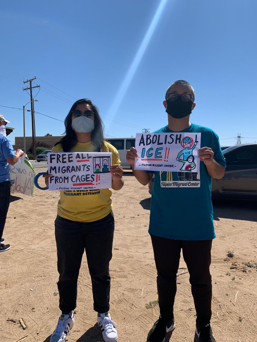Weve said it before and well keep shouting and honking until it happens: We want ICE and @GeoGroup out of Adelanto, out of CA and out of business! #FreeThemAll #LetMyPeopleGo