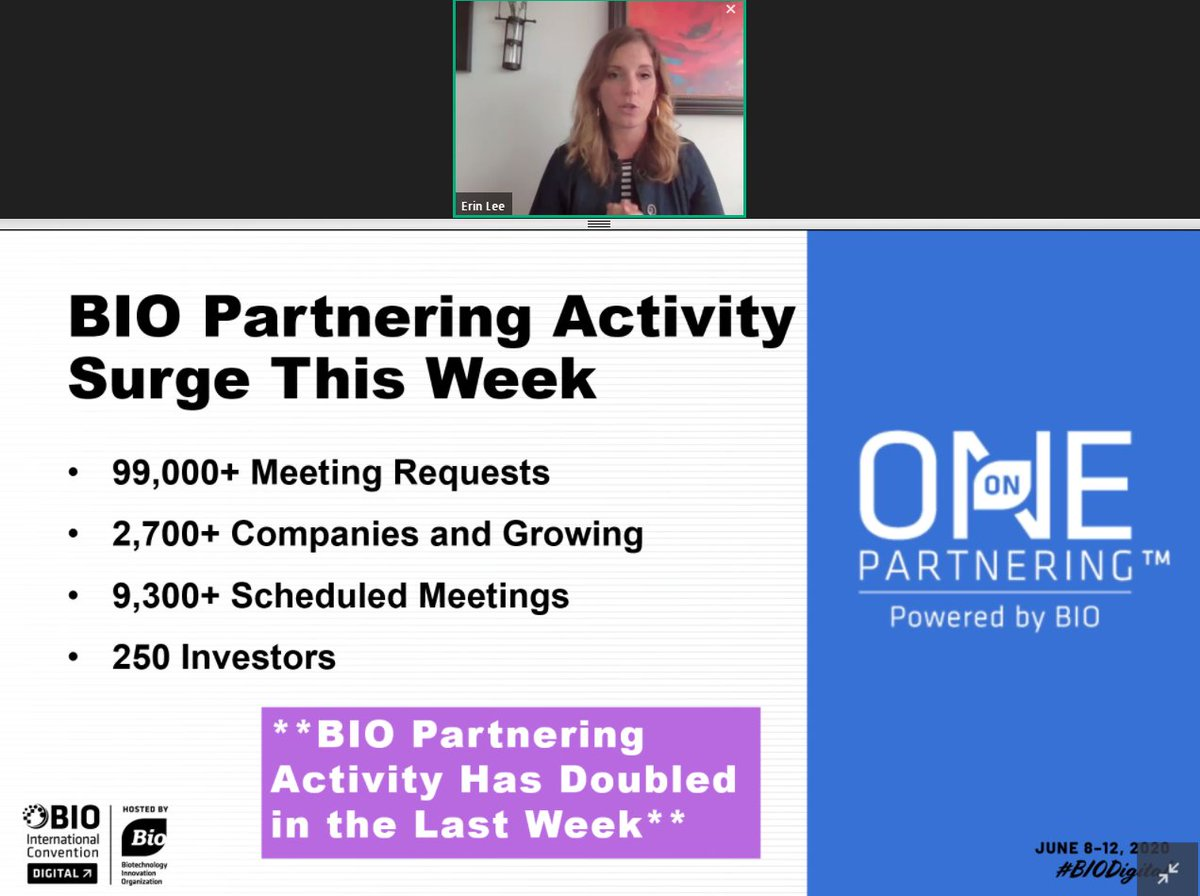What's Trending Webinar: It's not too late to start partnering! @ErinatBIO gives us an update on the latest news - a HUGE surge in partnering activity! https://t.co/dJfDxB7a7Q