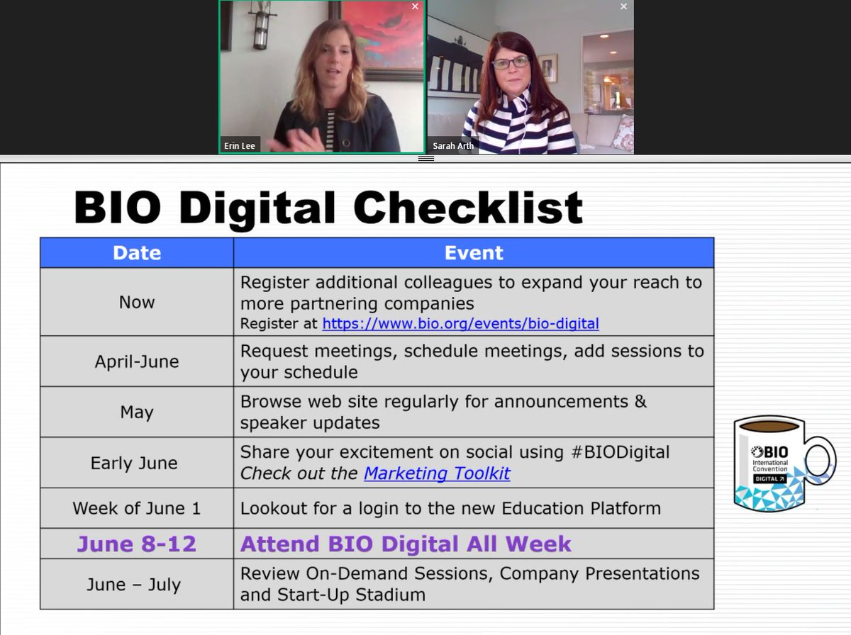 Ready to make the most of #BIODigital week? Follow our checklist to ensure you have a productive 5 days! https://t.co/PxF8JqpjSb