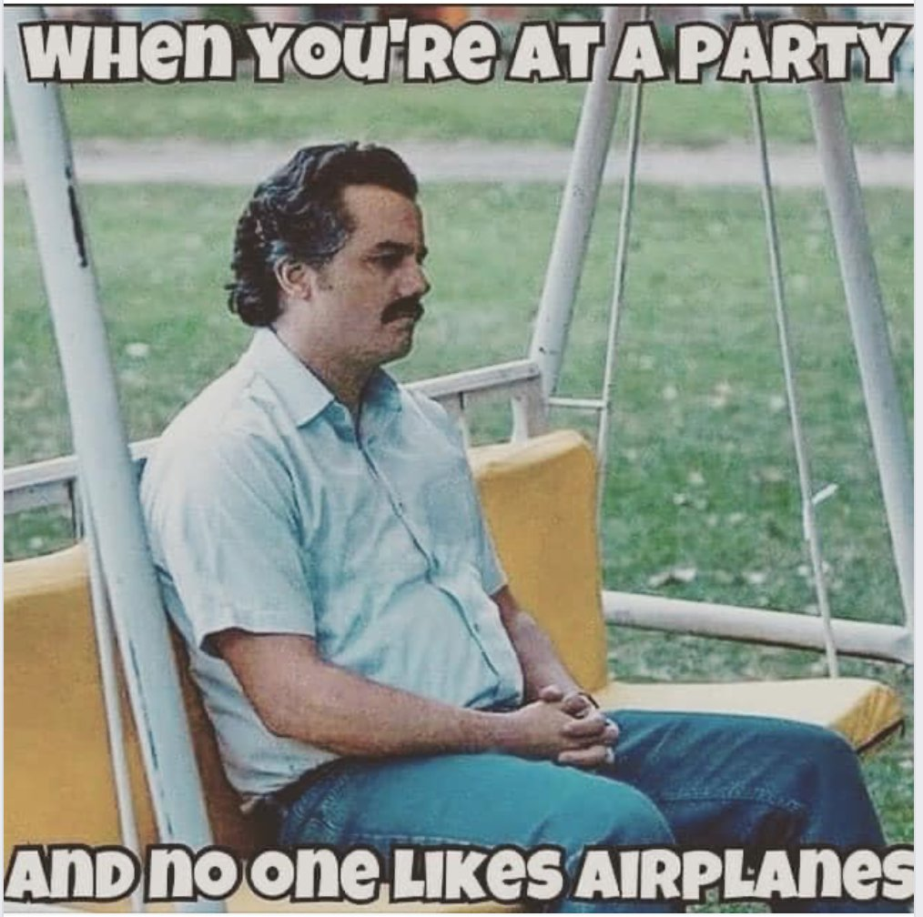 When nobody wants to talk about airplanes.   #avgeeks #airlines #flying #aviation #Pilot #Airplanes pic.twitter.com/9cpfRJ3hkf