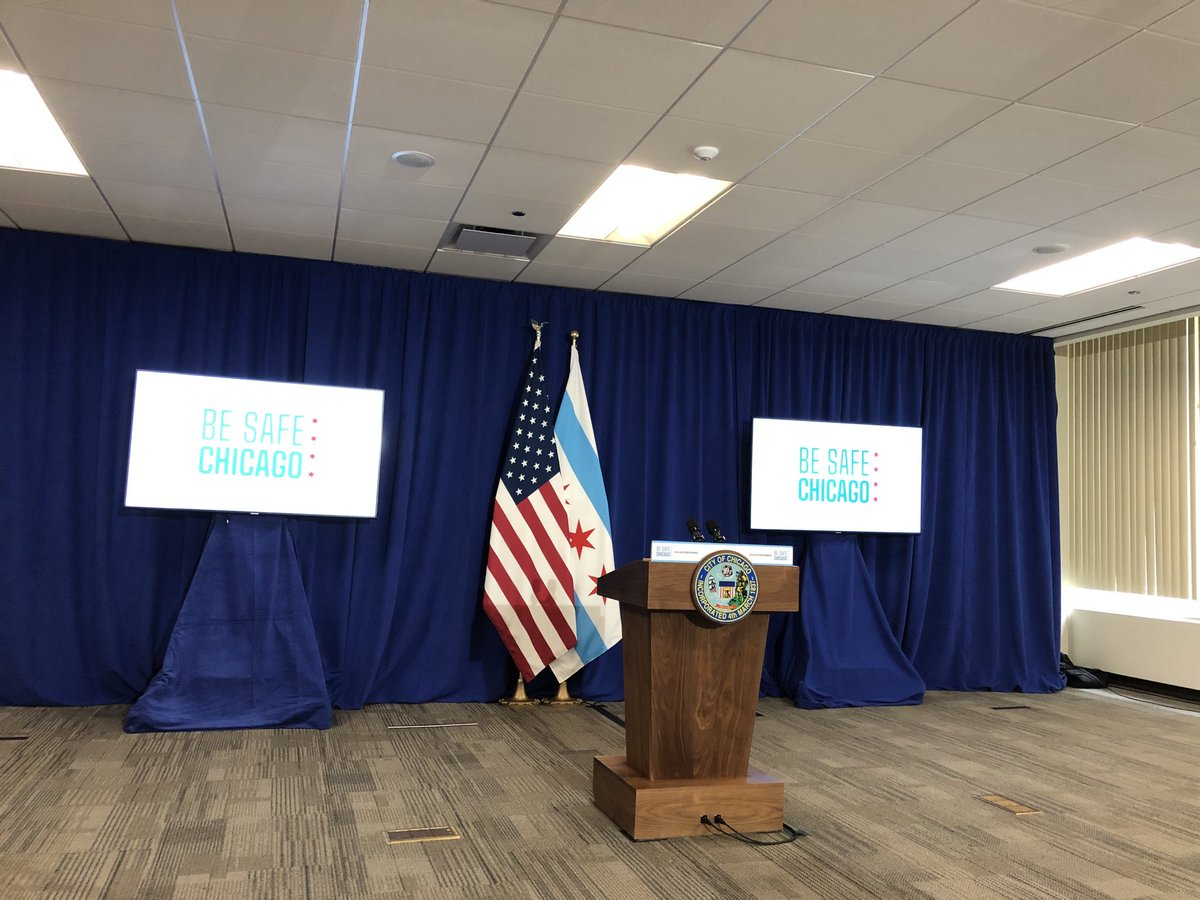 When will Phase 3 begin in Chicago? We're about to hear from ⁦@chicagosmayor⁩
