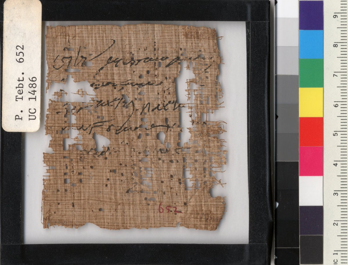 It's almost the end of the month—have YOU done your mandatory canal dike labor? #OnThisDay in 178 CE, Sarapion, Eudaimon, & Hekysis received certificates for their five days of canal dike work in Tebtunis http://papyri.info/ddbdp/sb;18;13992… http://papyri.info/ddbdp/sb;18;13990… http://papyri.info/ddbdp/sb;18;13991…pic.twitter.com/ZfvJOH8EZo
