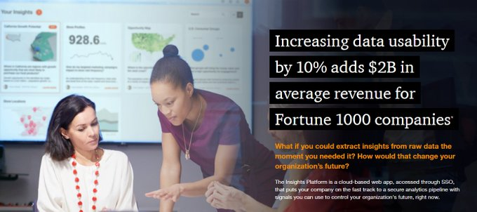 rt: @MikeQuindazzi CC @Antgrasso @Fisher85m  Increasing data usability by 10% adds $2 billion for Fortune 1000 companies >>> #PwC via @MikeQuindazzi >>> #AI #BigData #IoT #DataAnalytics #DataScience >>> http://pwc.to/3dAdih2pic.twitter.com/b4nc2ptmjh