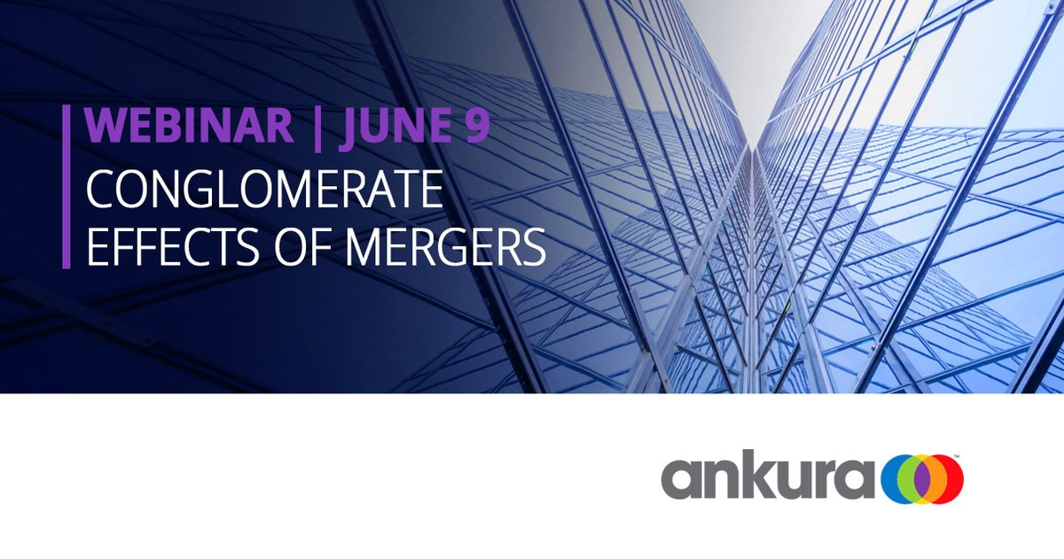 """RT Ankura_Consult """"Ankura expert Dr. James Langenfeld discusses how the EU & U.S. differ in their treatment of conglomerate mergers & how that affects large digital platform #mergers as part of his contribution to the OECD roundtable on #conglomerate… pic.twitter.com/8GYA2M14WF"""""""