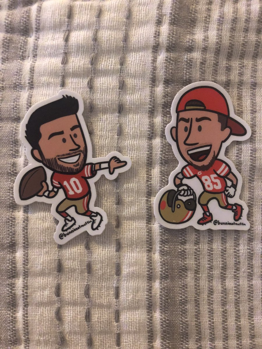 Oh my gosh the stickers I ordered are so wonderful. Thank you for the recommendation @Ninergirl99 😍 https://t.co/PGjx0hCvWF