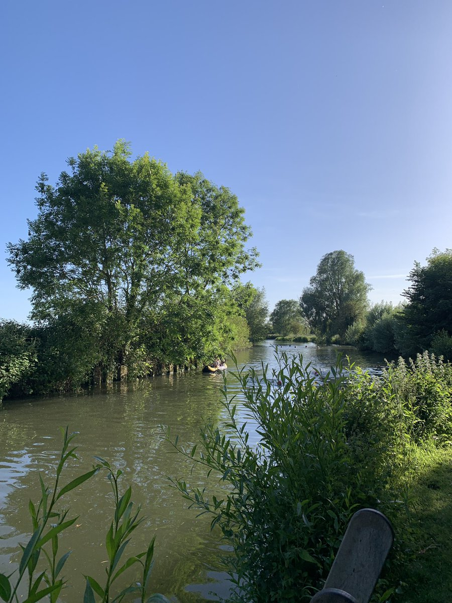 Another amazing swim in the River Cam today...I have a new obsession!