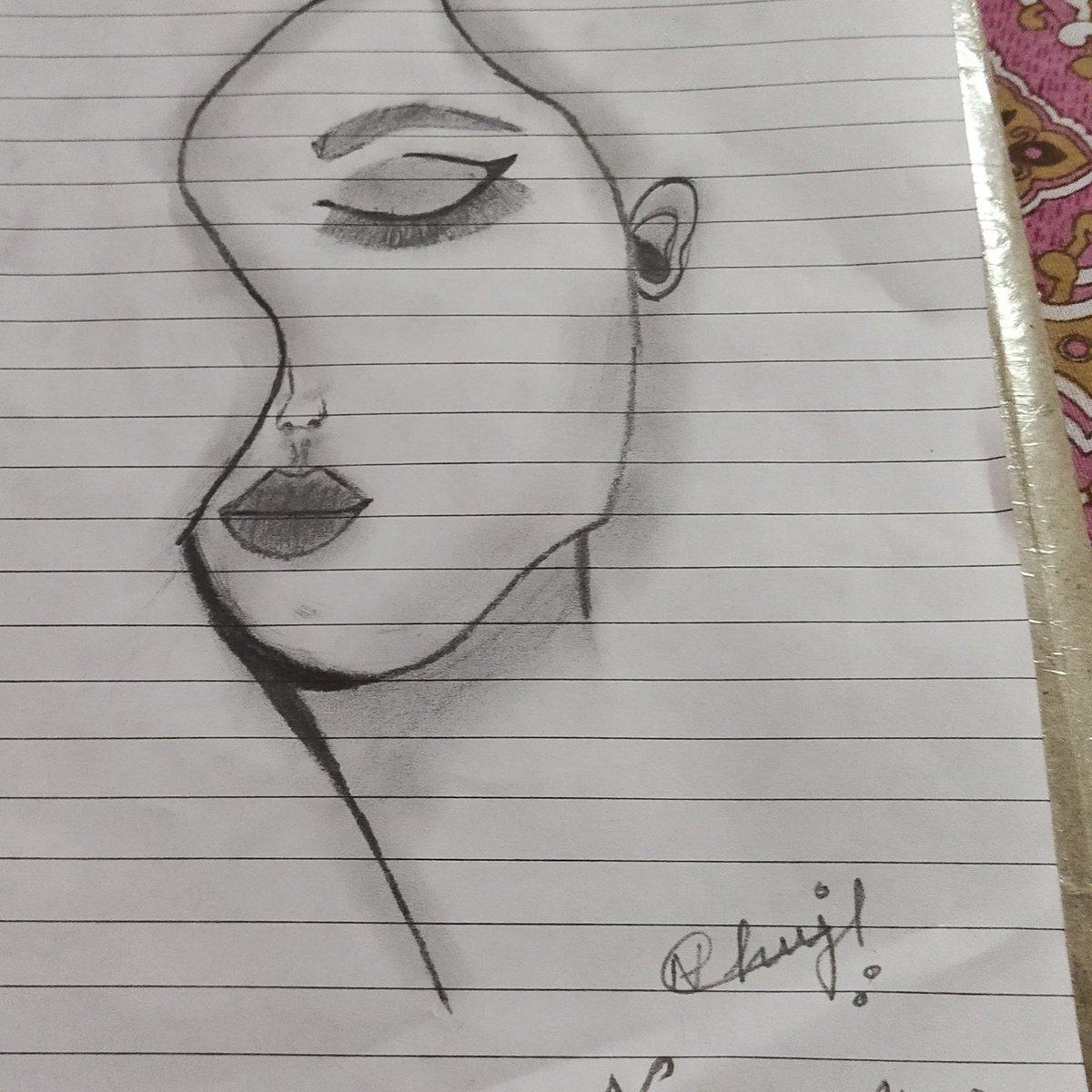 My Daughters first sketch   #Sketch pic.twitter.com/cv8cIjd7ec