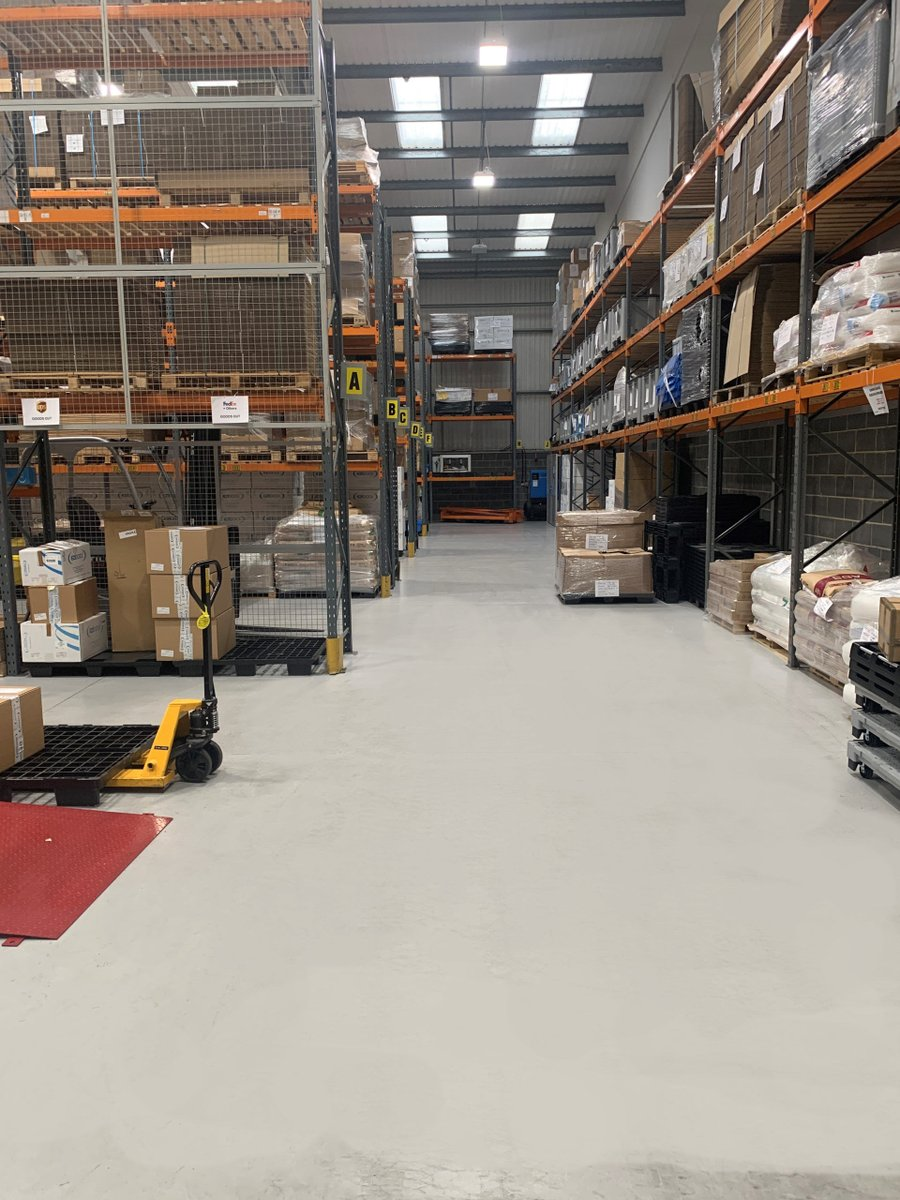What is the best type of #flooring for a #warehouse?  Why is #concrete alone not enough for #WarehouseFlooring?  And what are the main benefits of using warehouse #EpoxyFlooring?   Find out here...http://bit.ly/37zRQ8e   #PSCflooring #IMHX2021 #Logistics #Warehousing #UKmfgpic.twitter.com/CmPsWDh6UJ