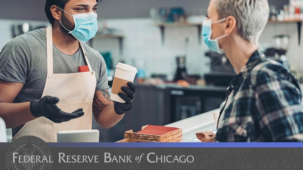 Today, our #CommunityDevelopment and Policy Studies team is meeting with experts and policymakers from across Chicago to discuss the challenges that the city's #smallbiz are facing and how to address the effects that the #COVID19 pandemic is having on them. https://t.co/Yf9sgo8FmM