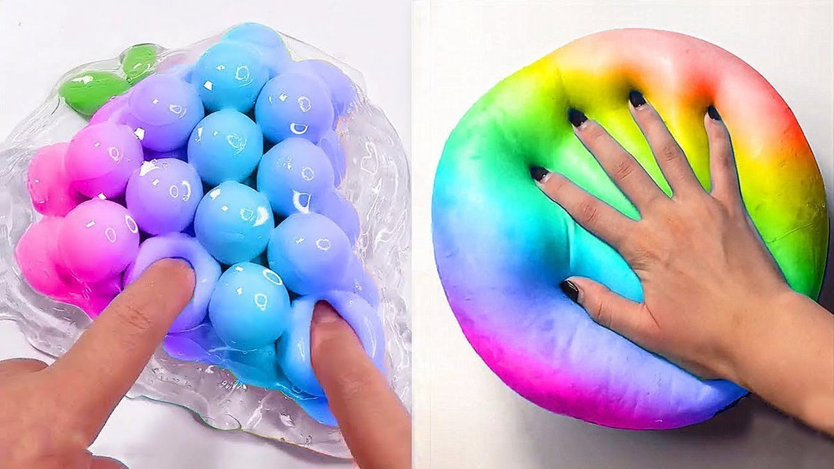 Oddly Satisfying Slime | Relaxing Slime Videos #58 Credit:  Tages: #relaxing #satisfying #Videos #slime #ASMR #relax #ASMRday #방탄소년단 #stayselcaday #와우가_스며든_우리의_봄날 #Punch1stWin #ThirstyThursday