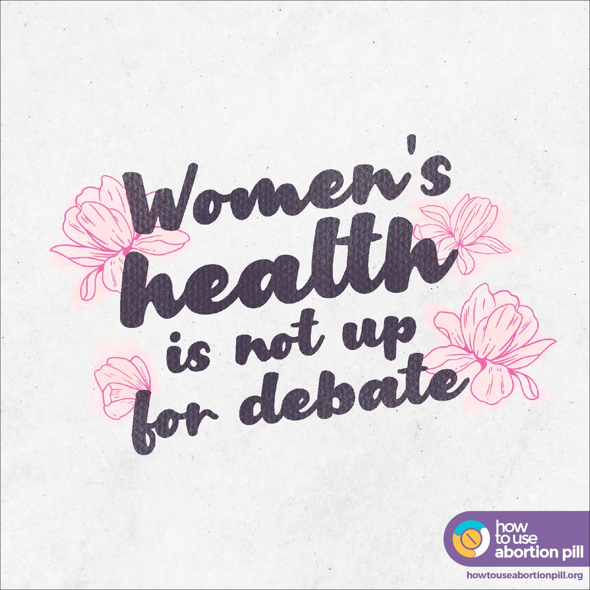 #AbortionRights are a matter of #healthcare. We cannot allow regressive laws and policies decide what goes on with our bodies. We decide that.   Let's take our health back in our hands. Start your journey here:  https://www. howtouseabortionpill.org       #internationaldayofactionforwomenshealth<br>http://pic.twitter.com/vAs3HeUwGF