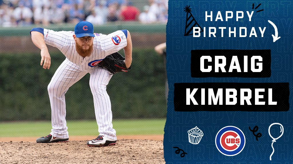 Happy birthday, @Kimbrel46! https://t.co/tPnLJ3Zq6j