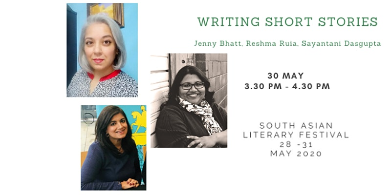 Do join in on Saturday 3.30 TO 4.30 pm when I will be discussing the art of short stories with @jennybhatt and @sayan10e . The event is a part of the South Asian Literary Festival @SAsianLitFest. The free eventbrite link is eventbrite.co.uk/e/south-asian-…