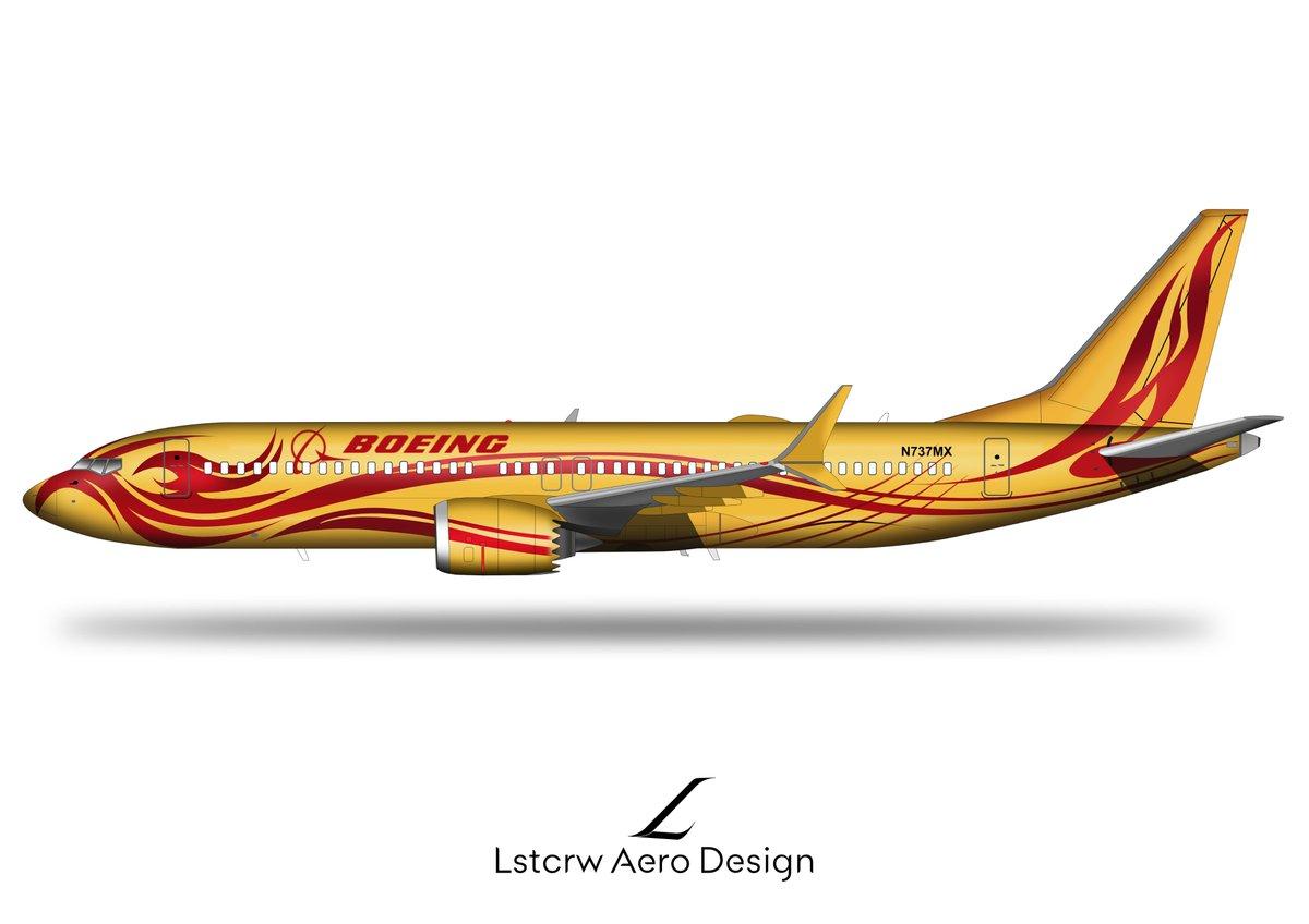 737MAX, born again like a Phoenix ? #avgeek #Boeing #B737MAXpic.twitter.com/VBCN5RATWs
