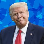 Image for the Tweet beginning: Trump truer med at lukke