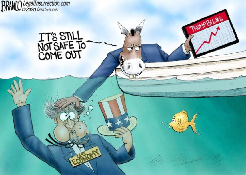 Blue State Governors like the idea of suppressing the economy for another 5 months. Anything special about November? #maga #kag #tcot<br>http://pic.twitter.com/tjnYpDJYou