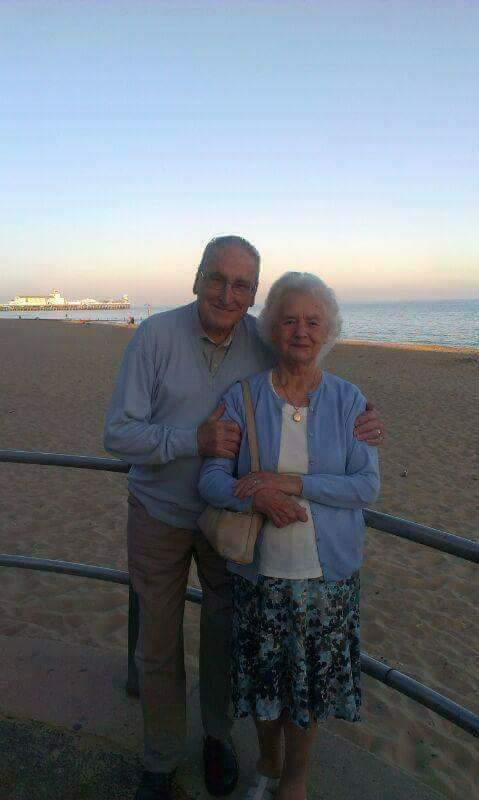 My beautiful grandparents on a perfect day in Dorset. I miss them so much, but look to their influence all the time. Warm, generous, loving, funny, selfless and endlessly kind... I was so lucky to have them. ♡ #ThrowbackThursday<br>http://pic.twitter.com/pmINqWSWL7