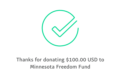 matched! who's gonna match me? minnesotafreedomfund.org/donate twitter.com/michaelpieloci…