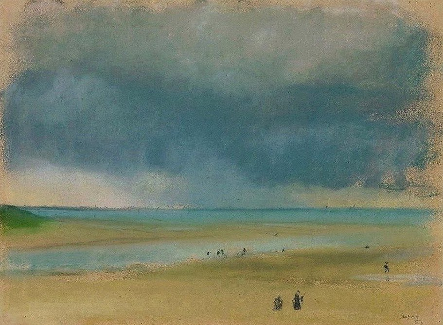 """""""Art is not what you see, but what you make others see"""" Edgar Degas Normandy 1869"""