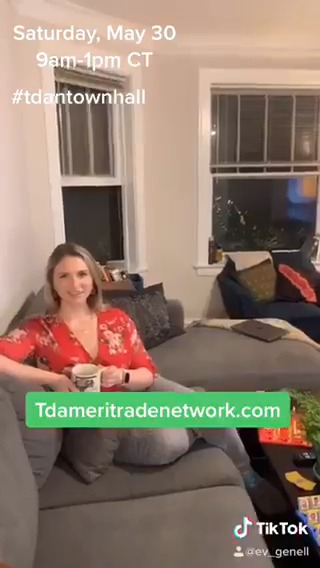 I made a TikTok for this, so the least you can do is send a video question for this weekend's #tdantownhall https://t.co/fWiRiMJyti