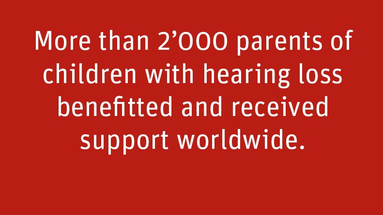 #ActivityReport: Last year, over 2000 parents of children with hearing loss benefited from our support. Additionally to getting hearing aids for their children, they were taught how to handle hearing aids and to stimulate their children's speech. Read more https://t.co/NUiD4UxyJM https://t.co/4aa5ytJ1kS