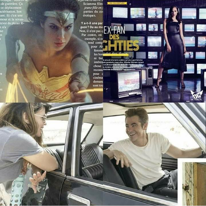 Exclusive pictures from #WonderWoman1984  <br>http://pic.twitter.com/Vojui8rapD