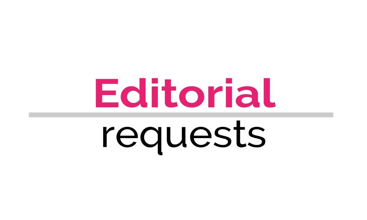 Deadline: 15 June  Beauty and lifestyle publications seeks suncare products (14.3k Instagram followers) https://t.co/soldeal1Eq #editorialrequest #jorunorequest #request https://t.co/uhzih3VuXh
