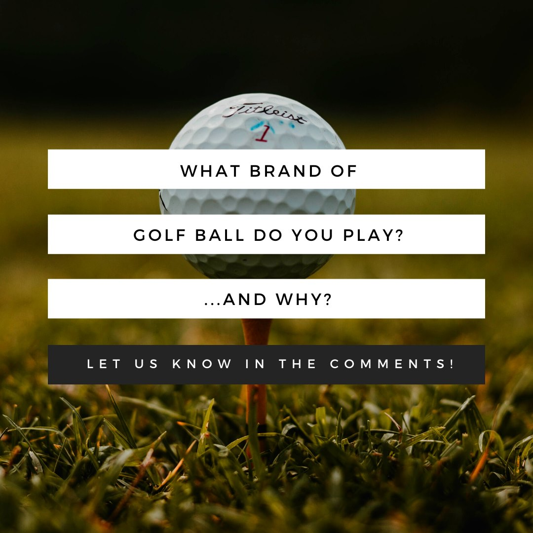 What brand of golf ball do you play and why? ⠀ .⠀ .⠀ .⠀ #Golf #GolfBall #GolfLife #Golfer⠀pic.twitter.com/lo5v2Rh7k8
