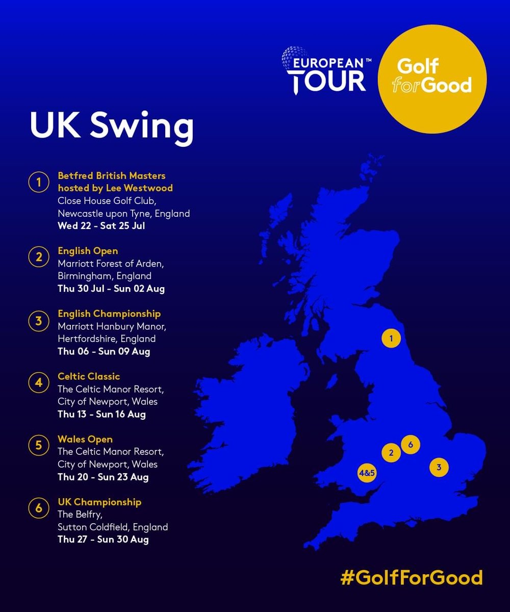 Exciting times ahead for golf in the UK  Enjoy the sun out on the course  Happy Golfin  #golfing #golf #golfer #golflife #golfswing #golferspic.twitter.com/kWOXJWLOrl