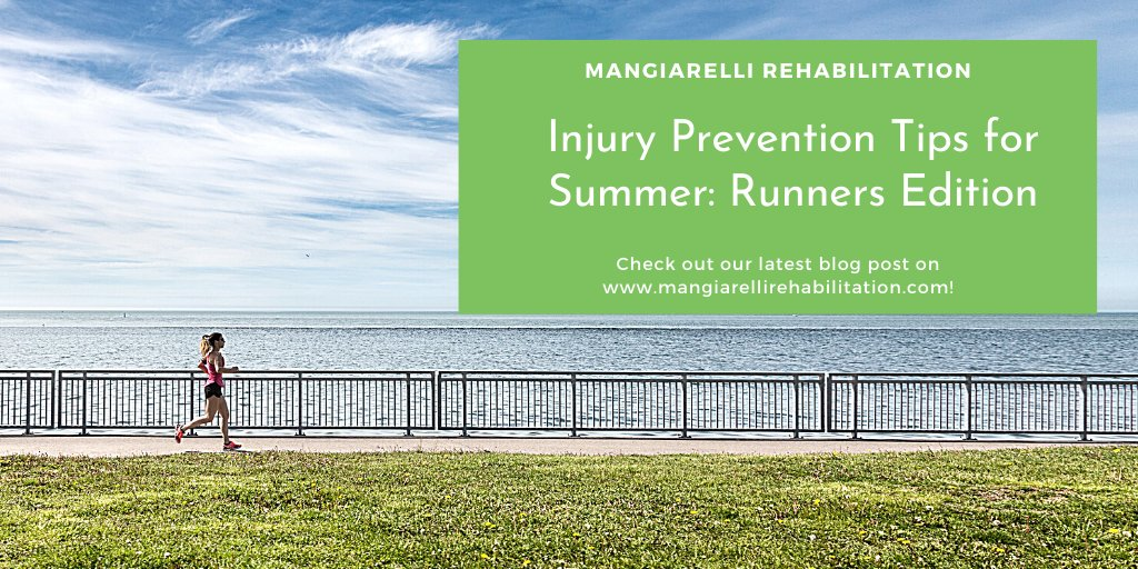 Check out our latest blog on injury prevention tips for summer runners: https://bit.ly/summer-runners-injury-prevention…   Approach summer runs w/ care to prevent injury & safely run in the heat.   #injuryprevention#runner#runnerscommunity#runnersworld #runnerslife#running#summer#summerrun#summerrunning pic.twitter.com/BENfkq6BD2