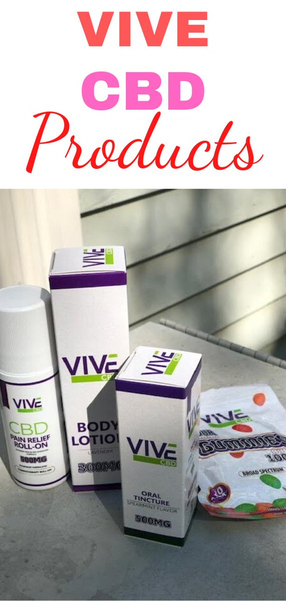 I absolutely LOVE Vive CBD products! https://t.co/4IhoIjN9bd #CBD #CBDproducts #Anxiety AD #CBDOil https://t.co/RZgRlgpOPk