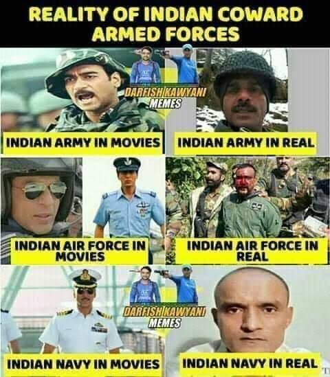 Coward Endian Army.... Strongest Army in Bollywood movies only #IndiaOnKneesInLadakhpic.twitter.com/25zkXvm0A6