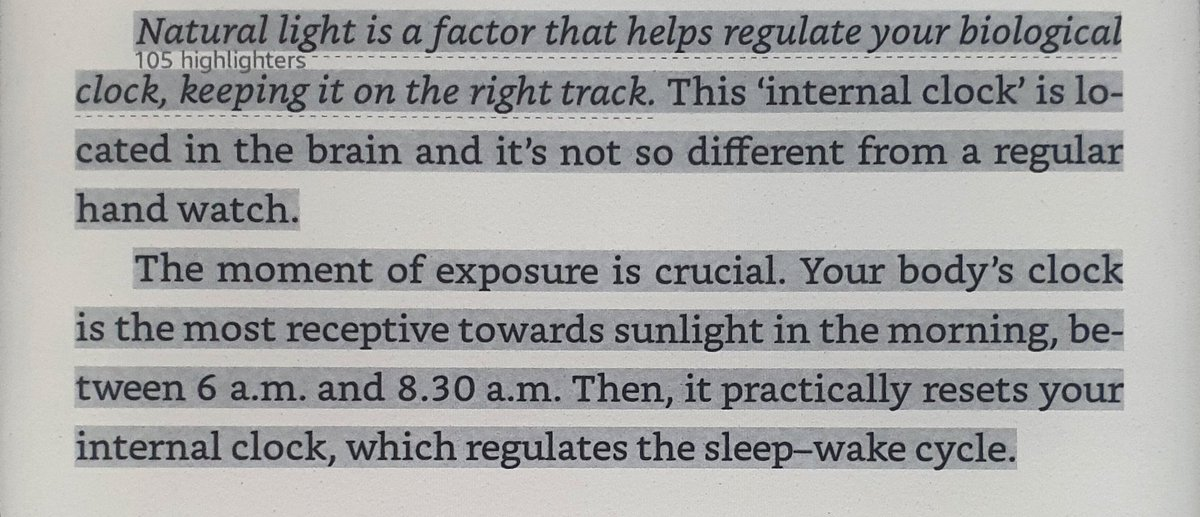 Get 30mins of #sunlight to regulate Circadian rhythm which is the Body's biological clock! #Sleepover #SleepTalk #SleepingBeauty #SleeplessNight #SleepDeprived #insomnia #sleep https://t.co/JsmbBb4Ay8