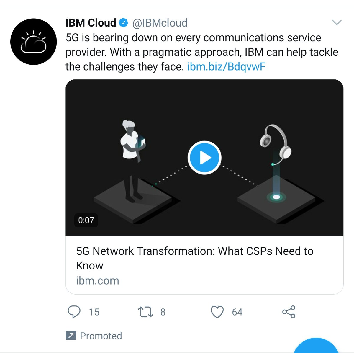 I don't think 'bearing down' is going to discourage the conspiracy theorists, @IBMcloud