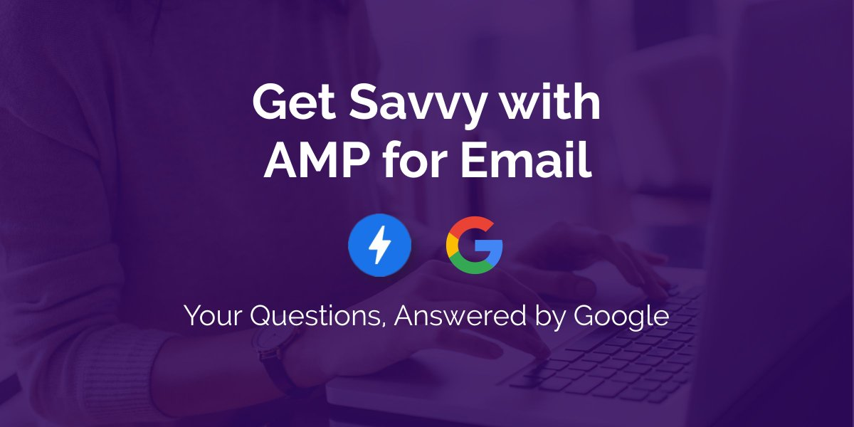 .@jharmer from @AMPhtml for Email shares best practices and case studies for dynamic email and discusses the future of email with @BrightWave in this webinar. Check it out! cc @Google