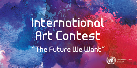 The future we want is a future we are working for: peace, rights and well-being for everyone, everywhere.   Share with us which of the art pieces  submitted by the Permanent Missions to @UNGeneva for this Art Contest represents your vision. To vote: http://thefuturewewant.unog.chpic.twitter.com/yTJhVsvbHU