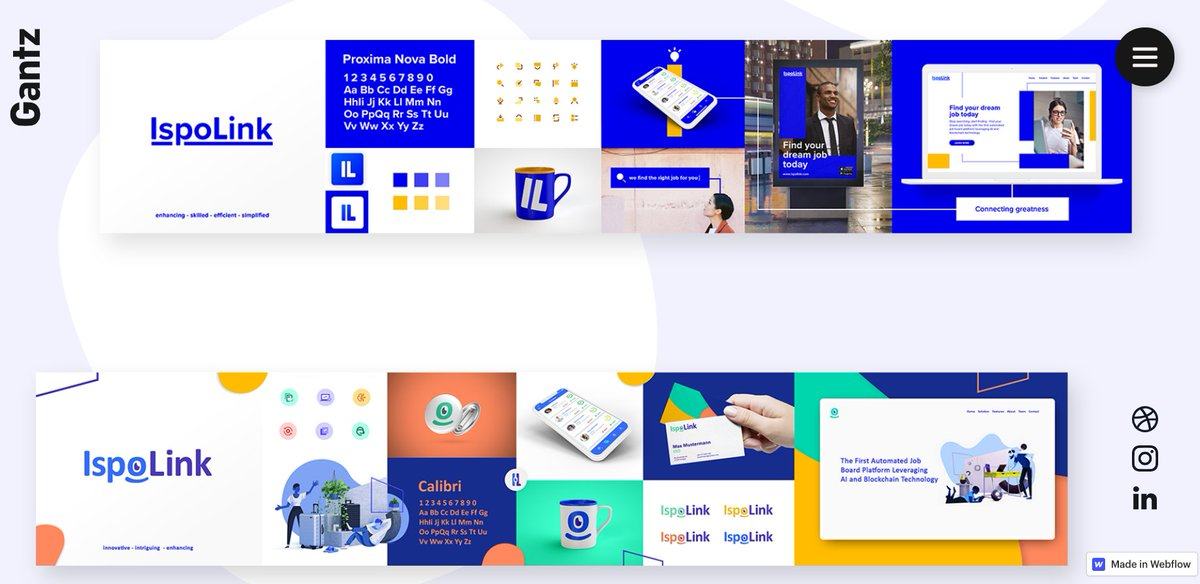 Here's a deep dive into Ispolink's Brand Identity👉   Understanding its significance, we rely on the best professional @GantzDesign who offers stellar corporate UI/UX design to businesses especially in times of uncertainty!