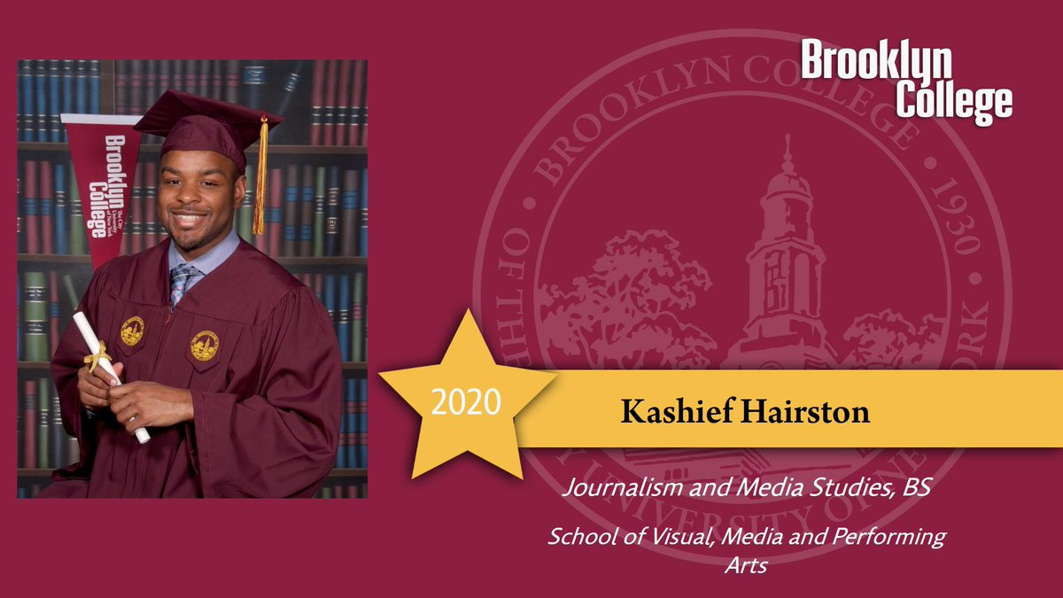 Today, I am pleased to announce that I am officially graduating from Brooklyn College with a B.S. Degree in Journalism and Media Studies. I would like to thank my family and professors for providing the space and opportunity for me to excel along the way.  #Graduation2020<br>http://pic.twitter.com/WxRJYQcVaY