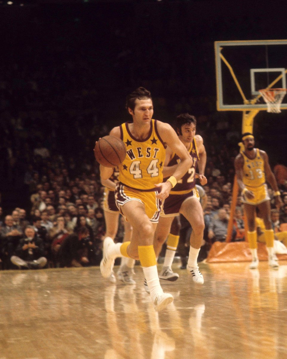 Happy 82nd Birthday to 14x #NBAAllStar and 1971-72 NBA All-Star Game MVP, Jerry West! #NBABDAY https://t.co/E7EbJKmMYm
