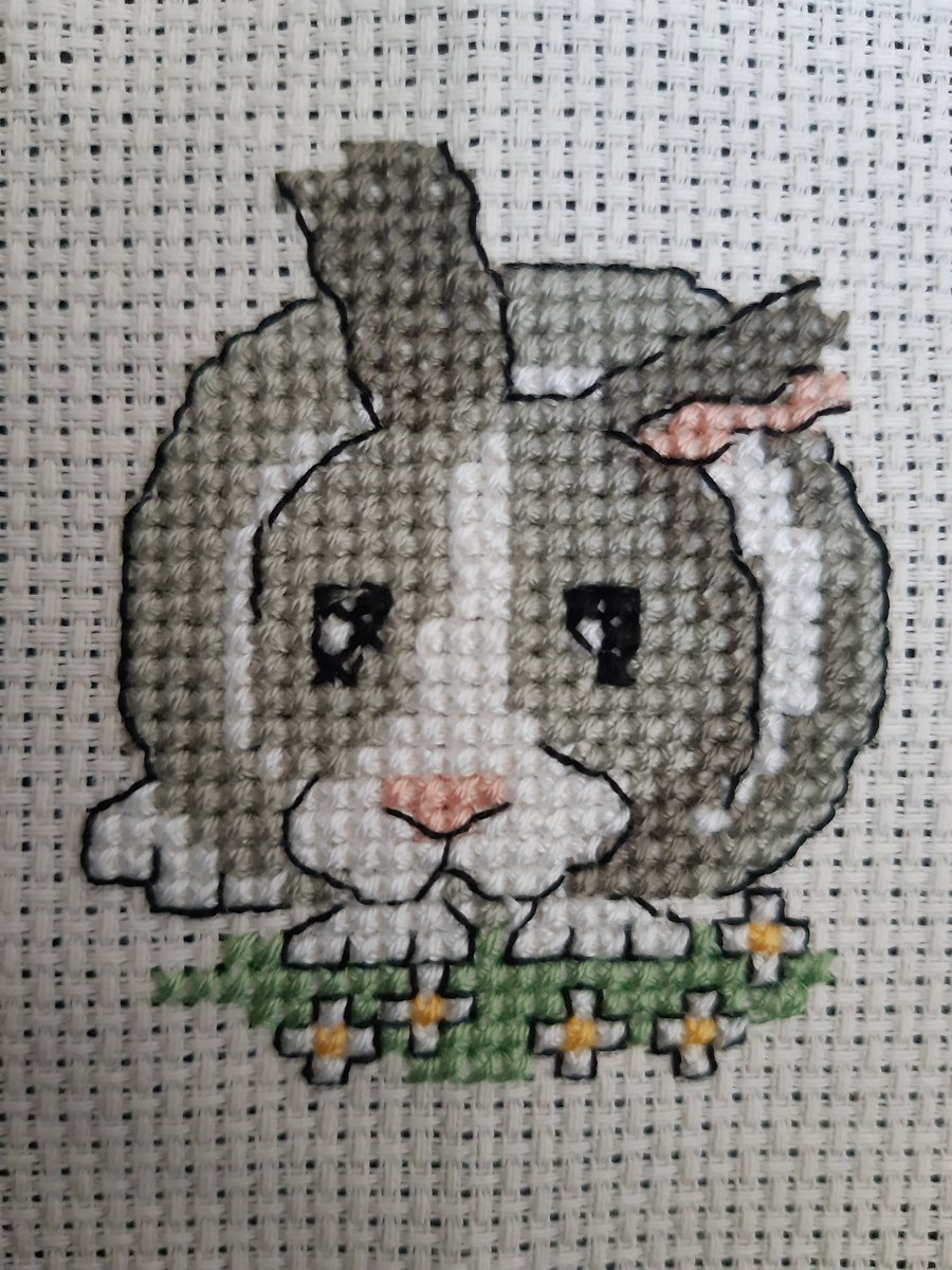 Today I stitched Arnie Batt and gave him to @missbattAP #hobbies #crossstitch #kindnesspic.twitter.com/JlSuSuFjjk