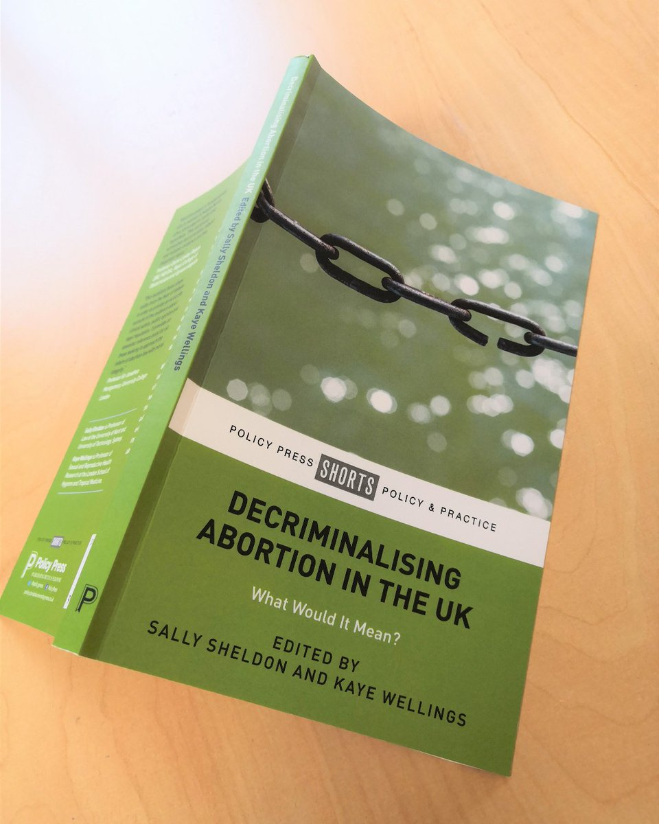 Decriminalising #Abortion in the UK is available OA digitally, or for 50% off in print at our virtual #LSA2020 stand. Use code LSALAW on our website until 31 May at https://t.co/9HsrpBkGng @law_soc #abortionlaw #law #lawsociety #LSAGoesVirtual2020 #lsa https://t.co/1Scl1YCGNd