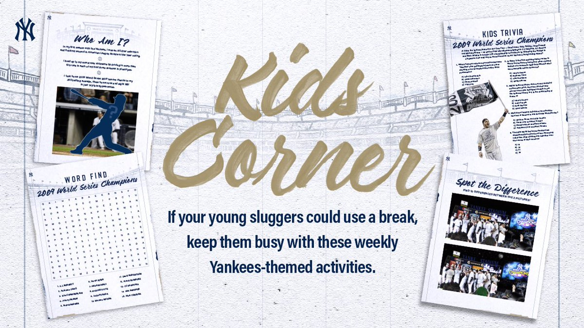 A fresh set of activities have arrived in this week's Kids Corner ➡️ atmlb.com/2R1uDGD
