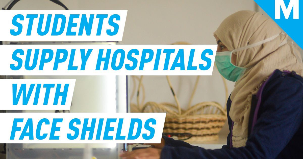 #Engineering #Tunisia Students in Tunisia aid hospitals running out of supplies by 3D printing 1000 face shields http://dlvr.it/RXX5w9  | http://bit.ly/etsydealspic.twitter.com/HLpQJdxyBe