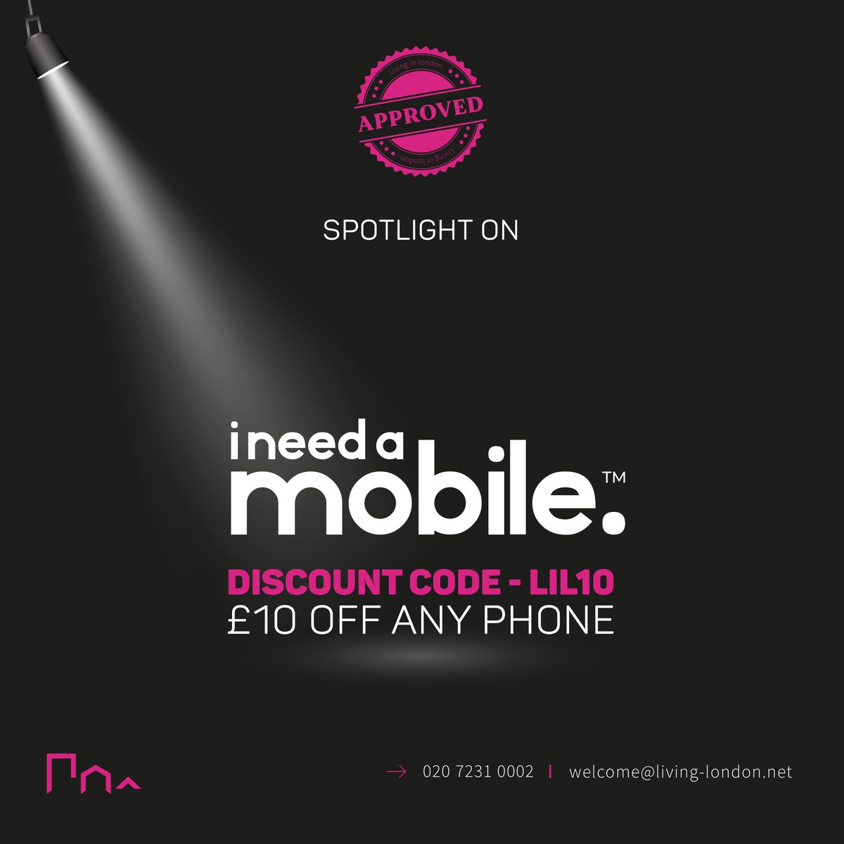 Spotlight on... @INeedAMobile - Need a new phone? Maybe you're a #localbusiness owner considering investing in #workmobiles for your employees due to #Covid-19? Get £10 off any phone with our exclusive #discount code - LIL10  Choose your #newphone today! https://www.ineedamobile.compic.twitter.com/nGXHtl8fFR