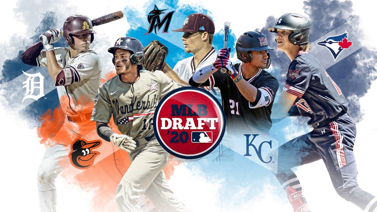 #MLBDraft Top 10 picks: 1. #Tigers 2. #Orioles 3. #Marlins 4. #Royals 5. #BlueJays 6. #Mariners 7. #Pirates 8. #Padres 9. #Rockies 10. #Angels Heres @jimcallisMLBs latest mock of the full first round: atmlb.com/36MVbCp