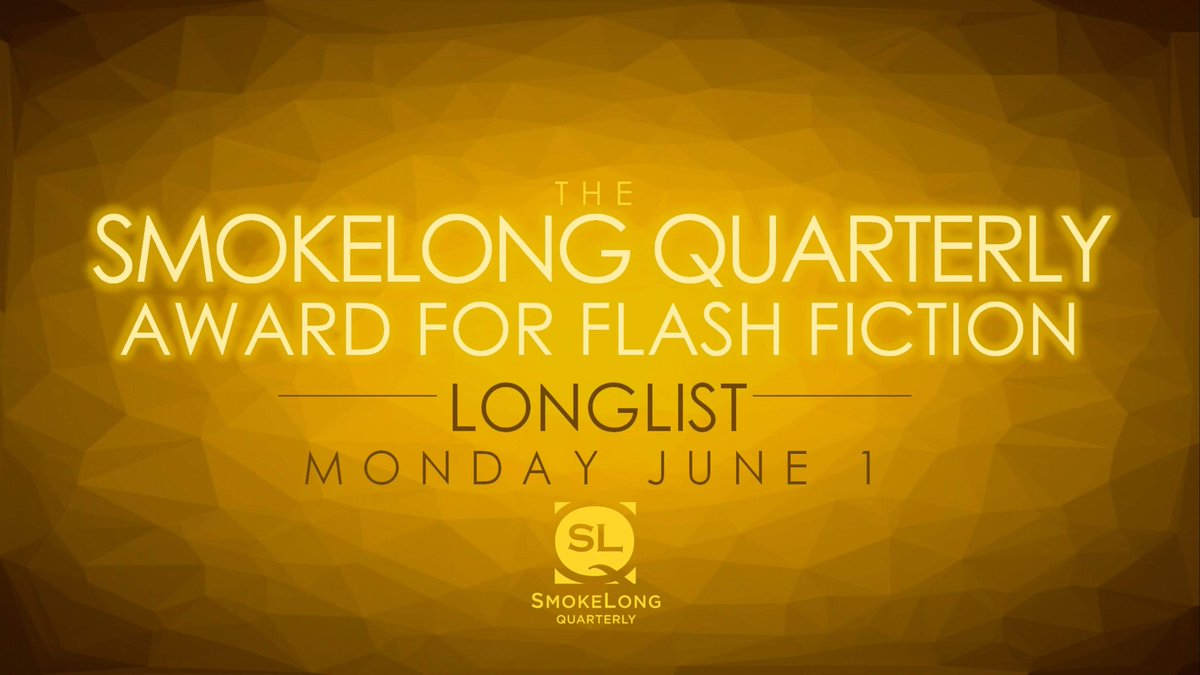 Are you ready? The Smokey longlist is coming June 1st.