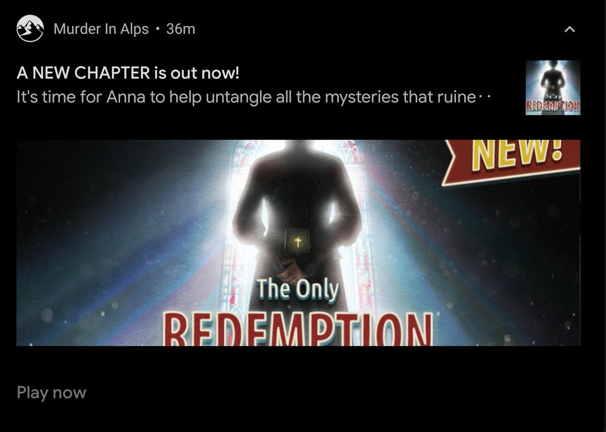 i know this isn't really the same genre as what you'd like to see on your tls but hey,, i fully believe satan would play this and solve the mysteries with me  murder in the alps FINALLY released a new chapter omg i waited for soooo looonggg i'm so hyped to play itttt!!!! pic.twitter.com/aRYezy6q9n